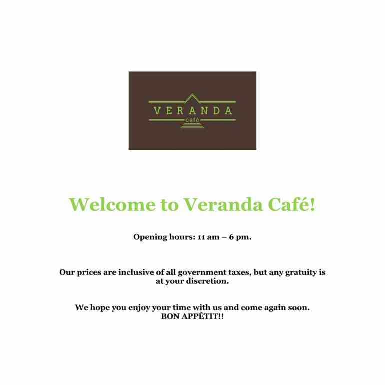 This is an image for Veranda Cafe