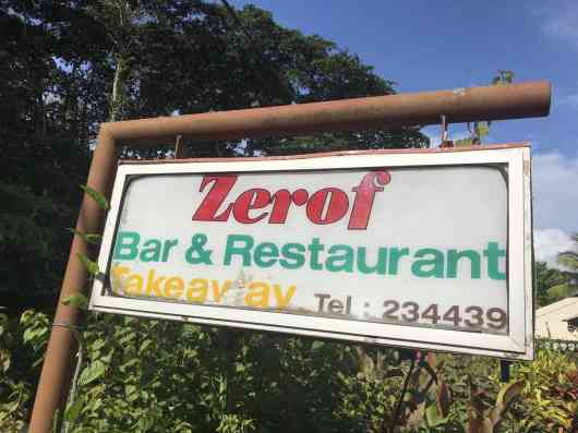 This is an image for Zerof Restaurant