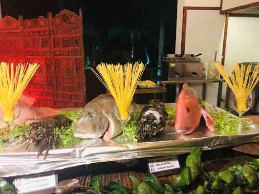 Fish buffet every saturday