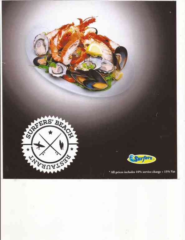 This is an image for Surfers Beach Restaurant