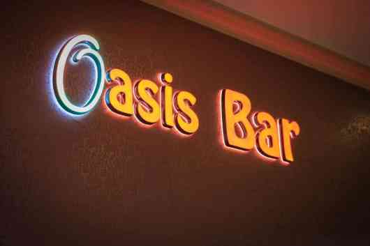 This is an image for The Rose Restaurant and Bar (Oasis Hotel)