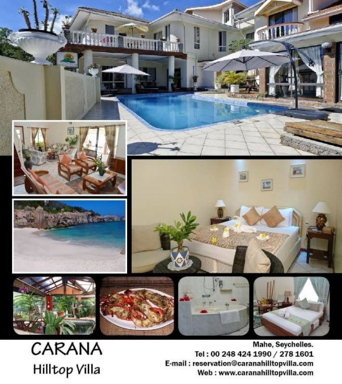 This is an image for Carana Hilltop Villa