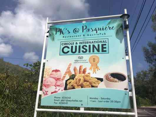 This is an image for PKS @ Pasquiere Restaurant