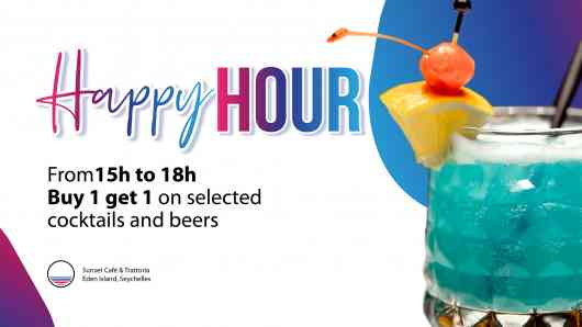 DAILY HAPPY HOURS